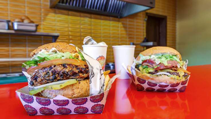 Planet Hollywood Beach Resort Restaurants and Bars - Burgers